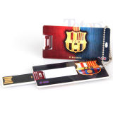 Mini USB sottile del biglietto da visita del mini della carta di credito azionamento sottile del USB