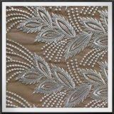 Tela elegante do laço do bordado do engranzamento para a senhora Pingamento