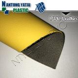 Cuir artificiel de PVC pour le sofa