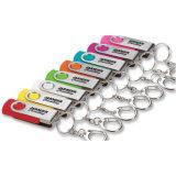 Custom Flash Memory Stick Swirl USB Drive para Promoção