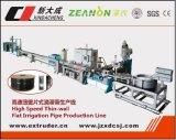 Linha de fabricação de tubos de irrigação por gotejamento