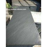 Каминные доски камина Китая совершенно черные, черные окрестности каминов, Plinths, черный шесток шифера
