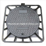 En124 Ductile Iron Manhole Cover (850X850mm) (DN600)
