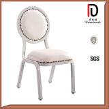 レストランの椅子(BR-A400)を食事する金属の結婚式のChiavariのアルミニウムホテル