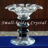 Sostenedor de vela cristalino de la flor (ZT0040)