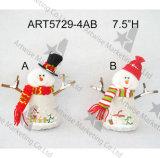 """12 """" décoration de la poignée de porte Hanger-4asst-Christmas d'orignaux de bonhomme de neige de H Santa"""
