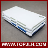3DソニーXperia Z3のためのプラスチック昇華携帯電話の箱