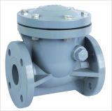Válvula de verificação do balanço de PVDF/CPVC/FRPP (H44X), válvula de verificação plástica