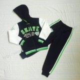 Roupa do esporte do menino da forma nos miúdos 2 PCS Coat+Pants Sq-6713