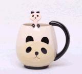 Tasse de thé en céramique de nouveauté Cool Coffee Set avec Cute Panda