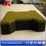 屋外のRubber Driveway MatsかDog Bone Rubber Paver Tiles