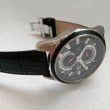 스위스 최고 빛난 우아한 스테인리스 석영 시계 크로노그래프 시계 72232