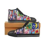 La aduana clásica de la impresión de la sublimación de las zapatillas de deporte de la lona de Hicut de la fábrica de Dropshing hace los zapatos