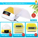 Hhdのフルオートの卵の定温器の中国のふ化場機械
