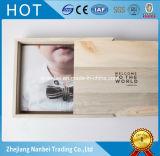 Rectángulos de madera de desplazamiento de encargo de la foto de la tapa