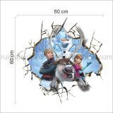 이동할 수 있는 아이를 위한 만화에 의하여 어는 특성 벽 스티커