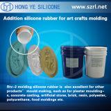 セメント型、Caucho De Silicona RTV De MoldeoパラグラフEL Molde De CementoのためのRTVの鋳造物のシリコーンゴム