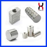Magnete del cilindro di formato del cliente del boro del ferro del neodimio