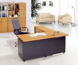 최신 판매 고전적인 싼 버찌 검정 관리 사무소 책상 (HX-4003)