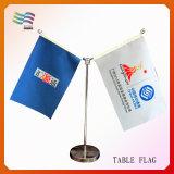 Bandierina su ordinazione della Tabella & dello scrittorio di marchio per la decorazione dell'ufficio (HYTF-AF008)