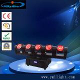 6 indicatori luminosi capi mobili infiniti del fascio delle teste 60W LED