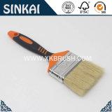 Caucho y cepillo de pintura de la maneta de los PP con negro y la naranja