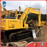 excavador japonés de 22ton Heavy_Eguipment 2008year_5800hrs Well_Test 178HP_Engine KOMATSU PC220-7 para la venta