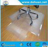 Precio de la alfombra del suelo del PVC del rodillo de la alfombra de la estera de la silla del PVC de la dimensión de una variable redonda del productor