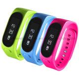 Los Wristbands elegantes de Bluetooth de la nueva aptitud impermeable con insignia imprimieron (4001)