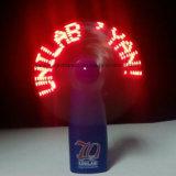 Ventilador vendedor caliente del mensaje del LED el mini con insignia imprimió (3509)