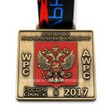 工場価格のカスタム3D旧式な金の金属メダル