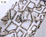シュニールのないソファーファブリックジャカードの長方形パターン