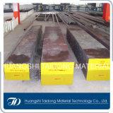 DIN1.2311/AISI P20/GB3cr2mo 플라스틱 형은 공구 강철, 편평한 둥근 바 강철을 정지한다