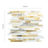 Nuove mattonelle di vetro del percorso di arte della cucina del materiale da costruzione da vendere