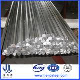 Barre en acier hexagonale étirée à froid de Ss400 S20c S45c