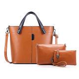 Signora Handbag 3 PCS di modo in 1 piccolo sacchetto Sy8235 di alta qualità dell'unità di elaborazione del Tote della spalla del corpo stabilito della traversa