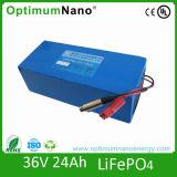 Bateria elétrica do íon de Li da bicicleta da bateria 36V 10ah do Lítio-Íon