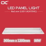 luz del panel de la iluminación de techo del hogar del rectángulo de 96W 300*1200m m LED LED