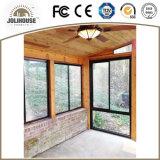 Дешевое подгонянное окно Casement дома фикчированное алюминиевое