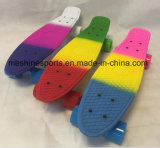 Qualitäts-Regenbogen-Farben-Penny-Fisch-Skateboard mit dem Cer genehmigt