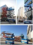 plataforma de funcionamento aérea da garantia 12months para a fábrica