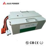 Bateria de lítio profunda da bateria 24V/25.6V 60ah do ciclo LiFePO4 com caso impermeável