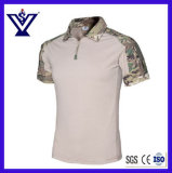 Outdoor Camouflage Military T-Shirt Vestuário Uniform (SYSG-2010)
