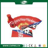 Étiquette préformée de chemise de rétrécissement de PVC pour le joint de chapeau