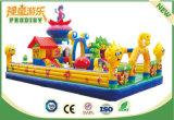子供のための魅力的な形の娯楽膨脹可能な城は楽しい時を過す