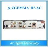 FTA DVB S2 HD MPEG4 H. 265 Hevc ATSCの受信機Zgemma H5。 AC