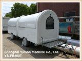 Rimorchio mobile del pollo del Rotisserie del veicolo della cucina di Tuk Tuk dell'alimento della via di Ys-Fb200t