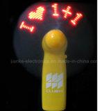 Напечатанные вентиляторы проблескивать подарков СИД рождества Programmable с логосом (3509)