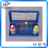 Kit de la prueba del agua de la piscina del precio bajo, probador del agua, kit de la calidad del agua