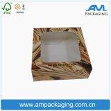 Contenitore stampato fornitori impaccante durevole di scatola del documento di qualità per i biscotti del forno